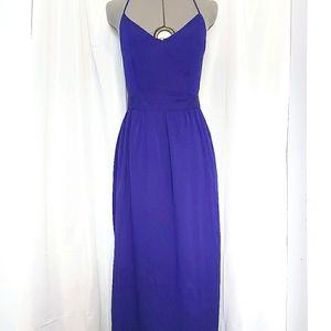 Tobi Royal Purple Maxi Dress Size S